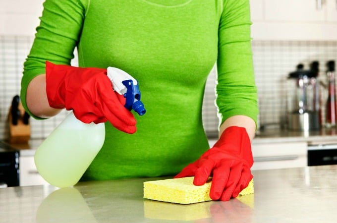OId Time Cleaning Myths Busted - Cleaning and sanitizing and disinfecting are three different things
