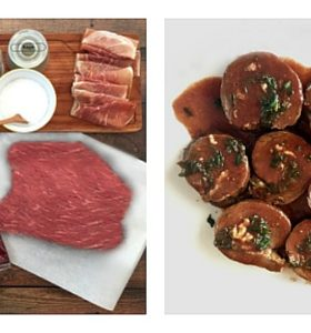 Round Steak Roulades recipe featuring Sargento Natural Cheese