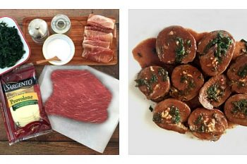 Round Steak Roulades – Oven or Instant Pot