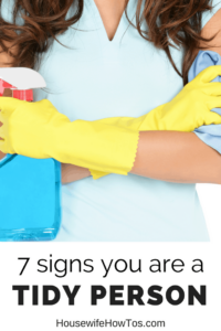 Are you a better housekeeper than you think? Find out how many of these 7 things you're already doing!