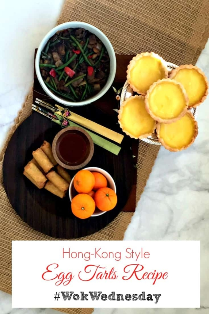 Hong Kong-style Egg Custard Tarts Recipe for your at-home Chinese dinner