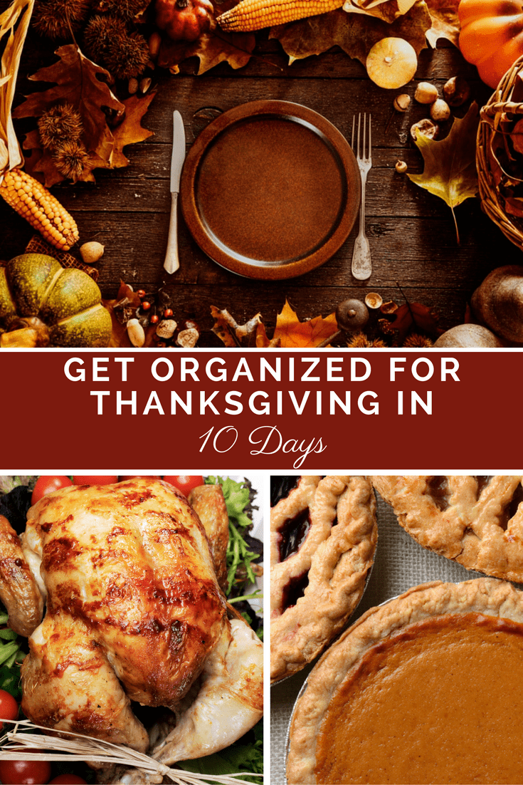 I love how this plan takes the stress out of Thanksgiving!