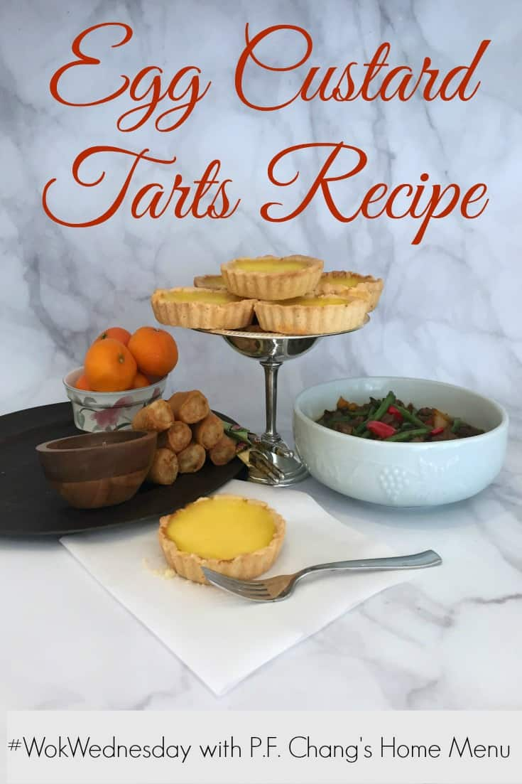 Egg Custard Tarts Recipe for #WokWednesday