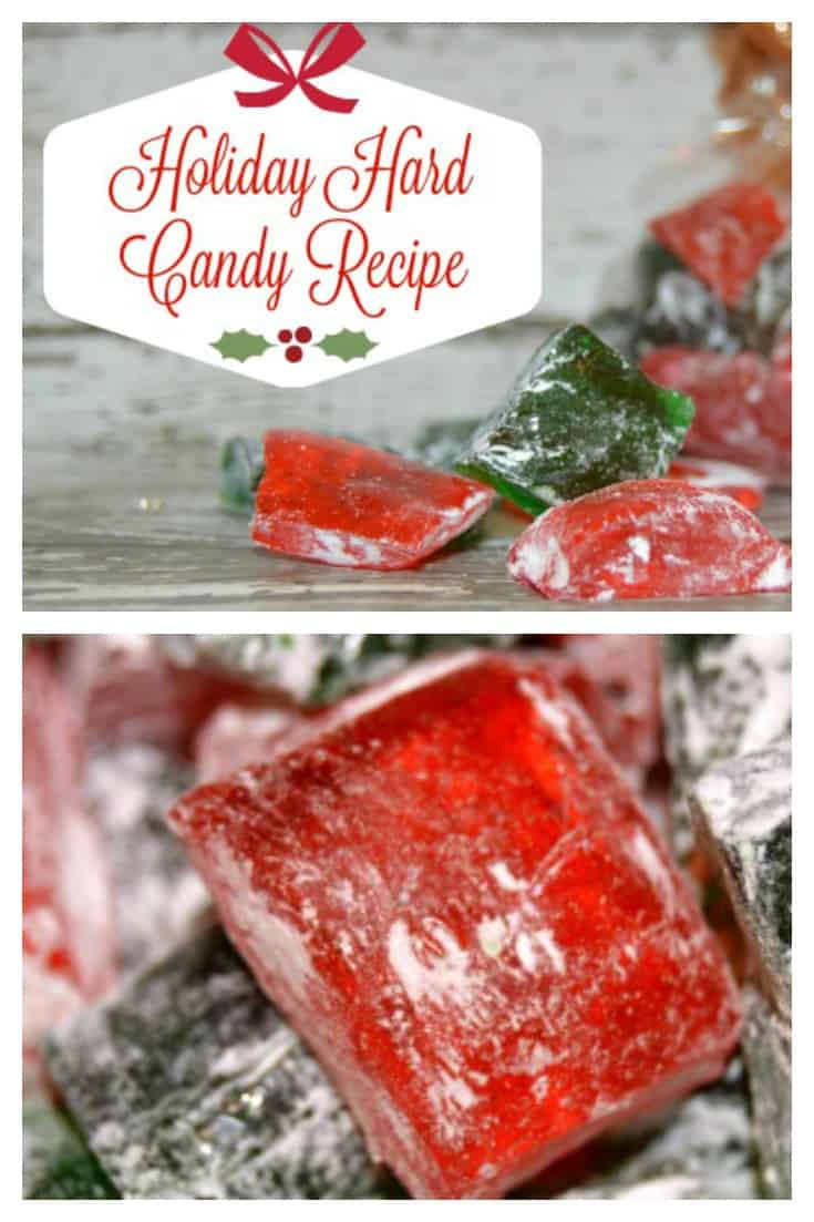 Holiday Hard Candy Recipe - If you can boil and read a thermometer you can make this easy sweet treat