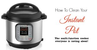 How To Clean Instant Pot Pressure Cookers