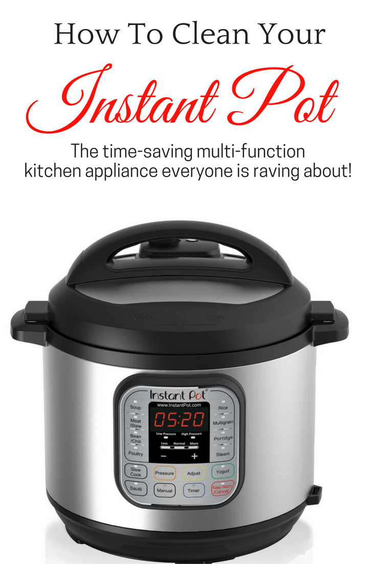 Easy tips to clean an Instant Pot, even the silicone ring, so it works and smells like new.