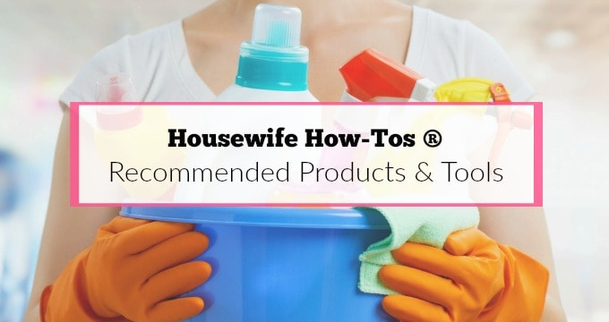 Recommended Products - I trust and use these in my own home