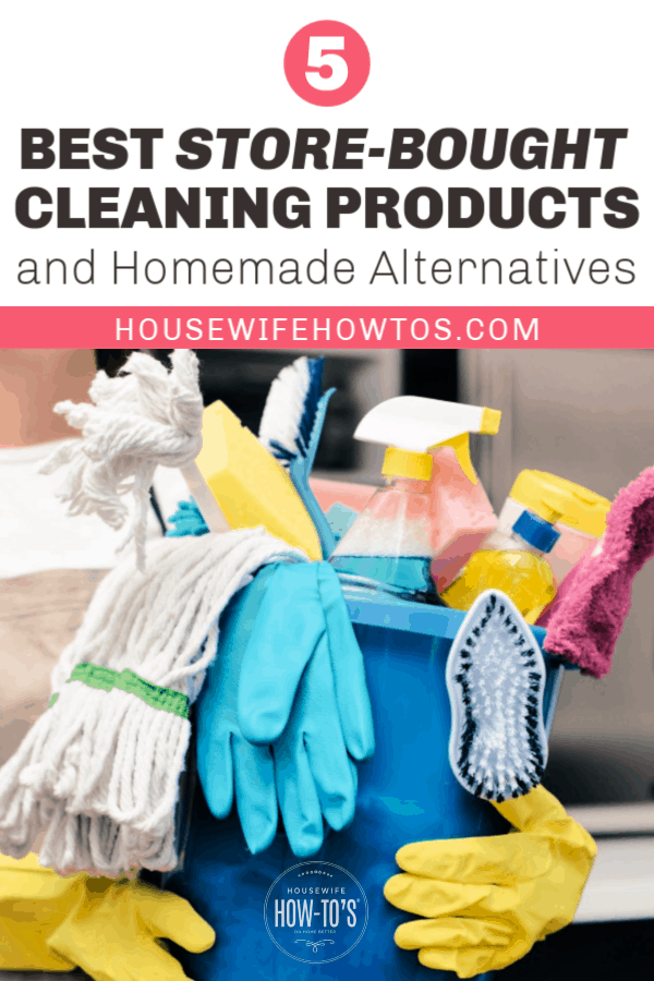 Best commercial cleaning products and homemade alternatives
