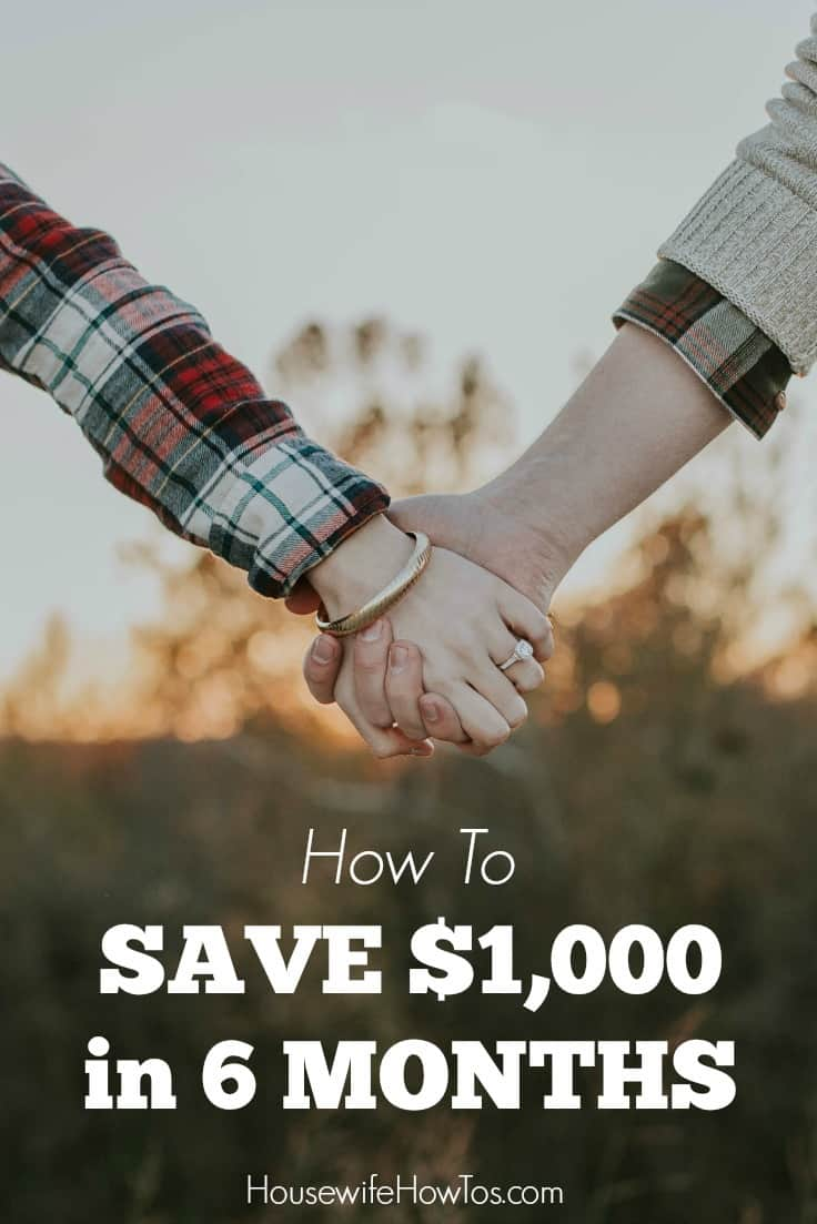 How To Save $1,000 in 6 months - I did it and never felt deprived. Now I'm going for six times that!