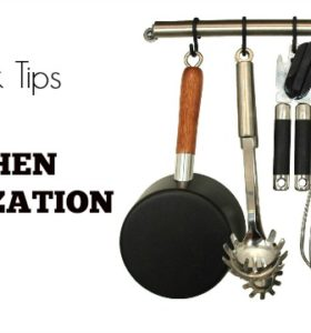 Tips to Kitchen Organization