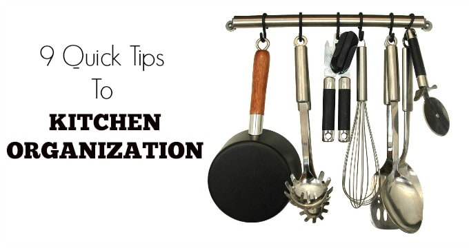 Tips on Kitchen Organization