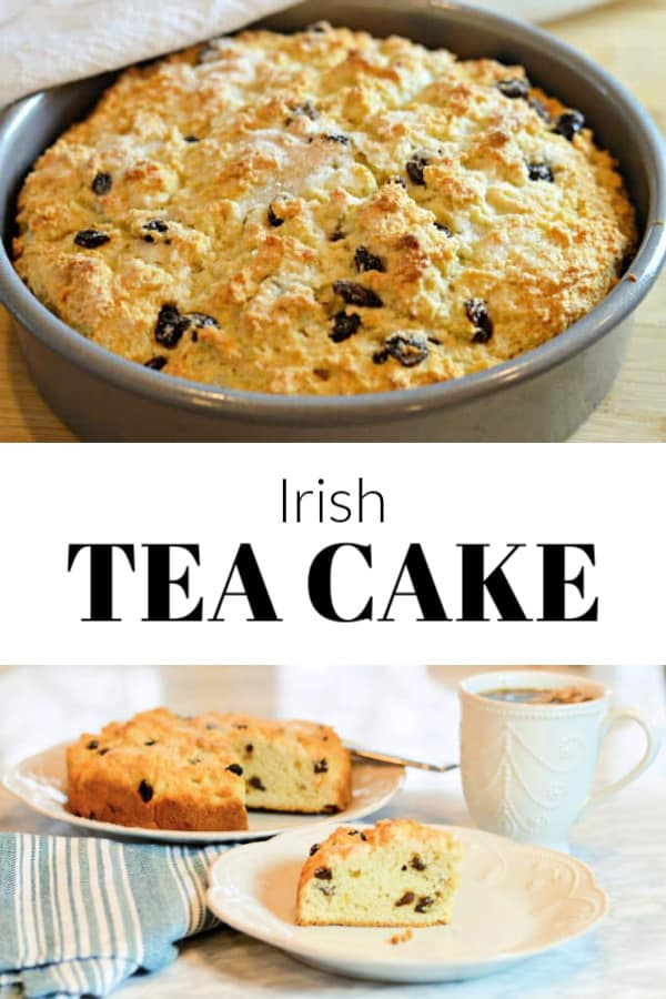Irish Tea Cake Recipe