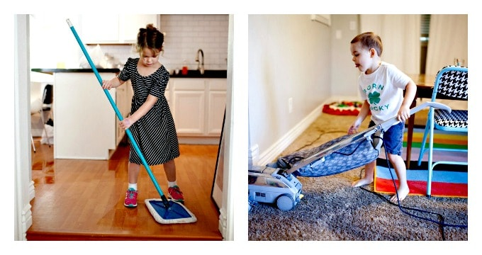 Games To Get Kids Cleaning