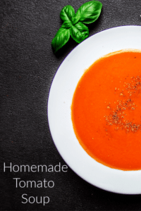 Homemade Tomato Soup easy recipe