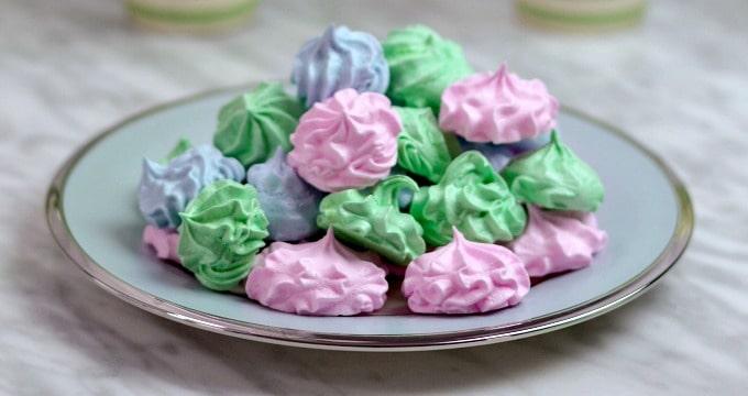 how to make vanilla meringues