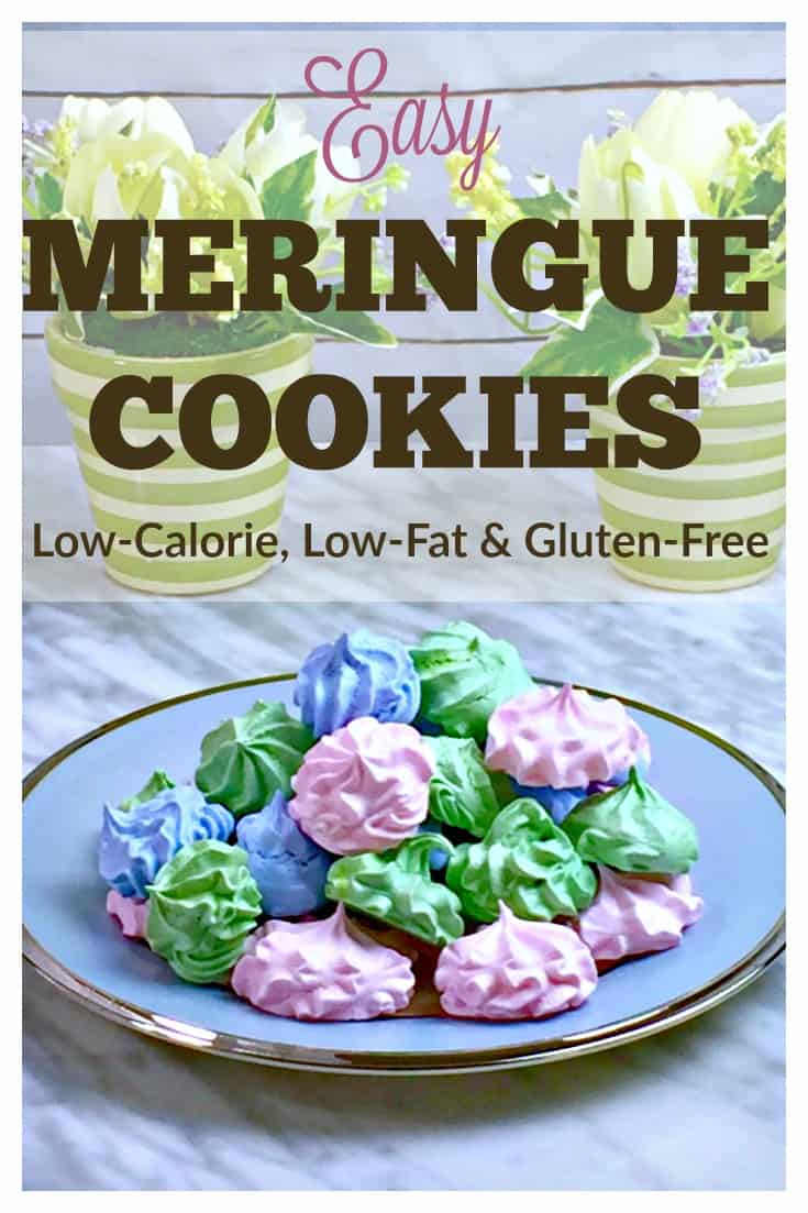 Satisfy your sweet tooth without derailing your diet thanks to this low-calorie, low-fat, gluten-free. Use the sugar-free option and it's low-carb, too! As if that's not enough to make them the perfect cookie, they freeze well, too! | via @HousewifeHowTos