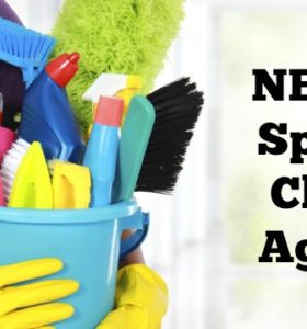 Never Spring Clean Again - Enjoy year-round Spring Clean with this life-changing plan