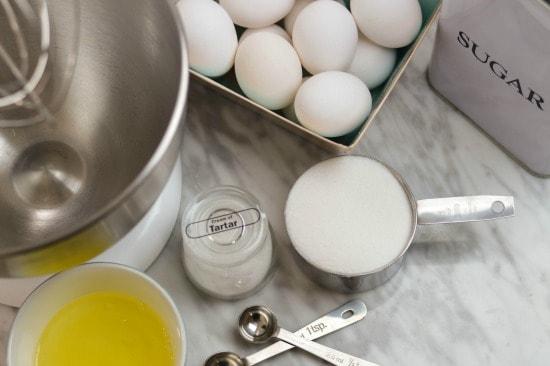 Easy Meringue Cookie Recipe uses simple ingredients