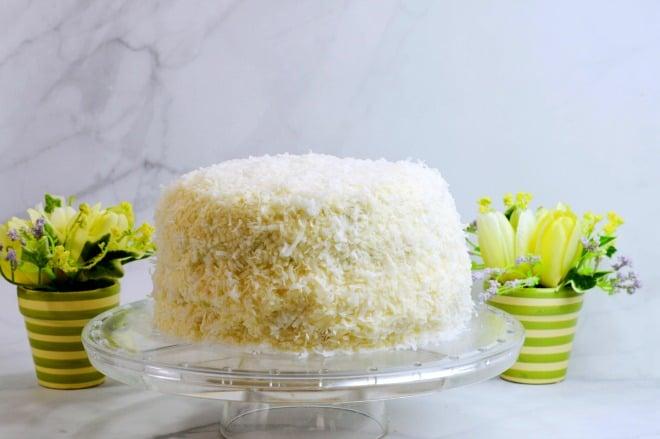 Coconut Cake Recipe - A gorgeous Spring cake