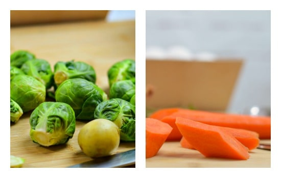 Roasted Spring Vegetables Recipe - Cut vegetables into similar sizes so they cook evenly