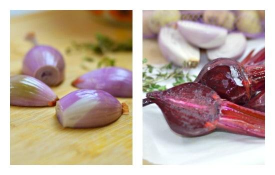 Roasted Spring Vegetables Recipe - Halve larger vegetables vertically