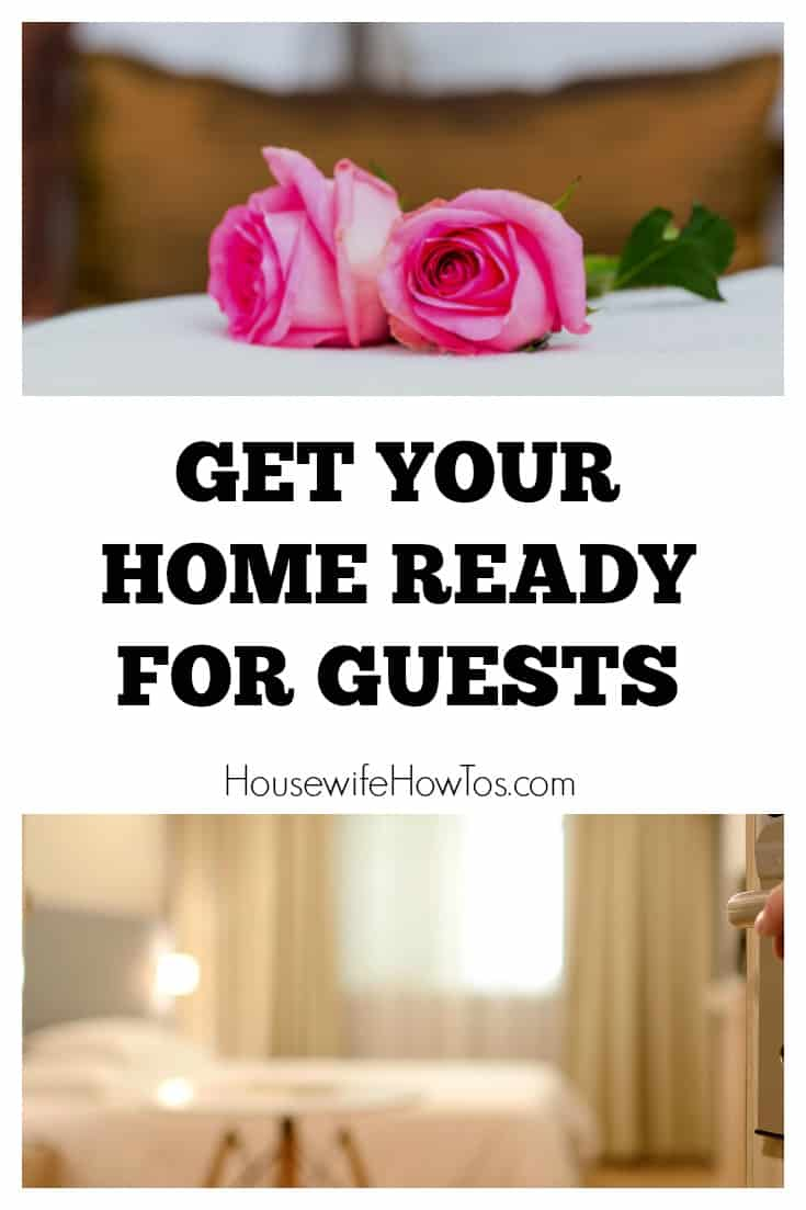 How To Get Your Home Ready For Guests - Summer is coming and that means guests will be staying, or maybe you're hoping to make money through Airbnb? Here's how to get your home ready for guests of all kinds so they have a 5-star stay.