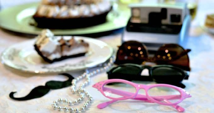 Break out some wacky accessories for photo fun