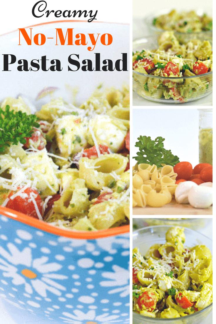 pasta salad recipes without mayo