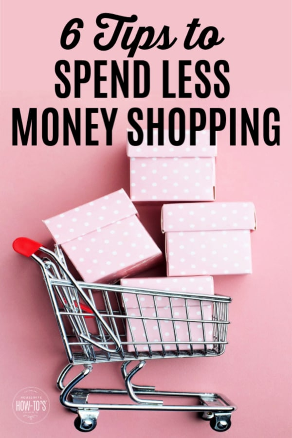6 Tips to Spend Less Money Shopping - Cart filled with impulse purchases