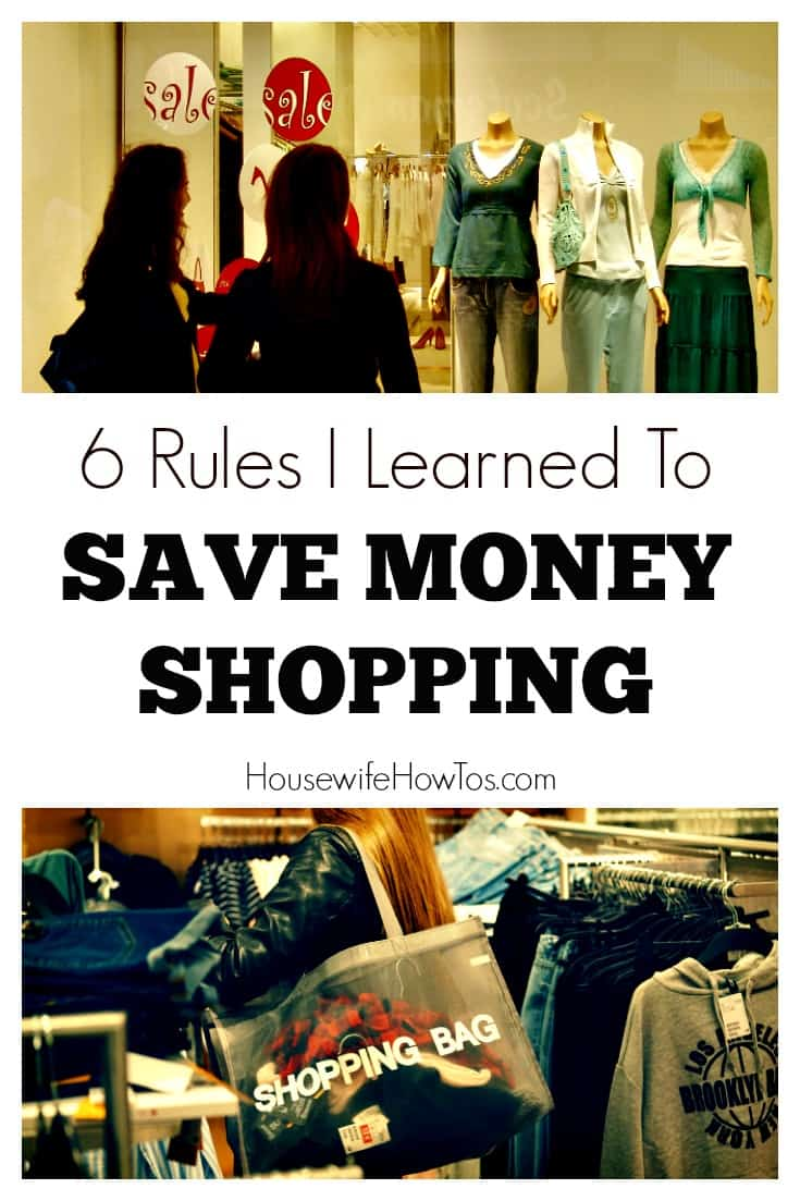 Ways To Save Money Shopping - As a widow raising a teen I have no choice but to follow a budget and these rules help me stick to it!