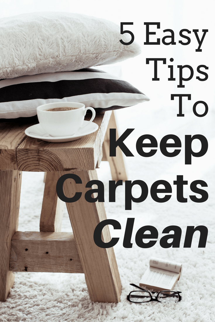 5 Easy Tips to Keep Carpets Clean