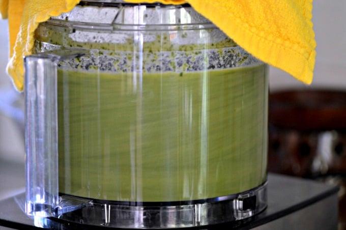 Lettuce Soup Recipe - Blend in food processor or blender