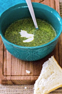 Lettuce Soup - Green never tasted so good