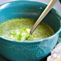 Lettuce Soup is a delicious way to eat your greens