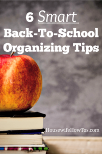 6 Smart Back-to-School Organizing Tips Help kids get ready faster in the morning and keep their rooms and belongings straight with these easy tips