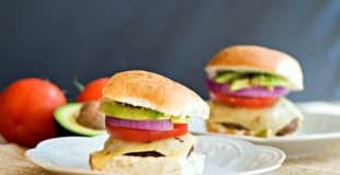 Baja Sliders with Green Chile Mayo