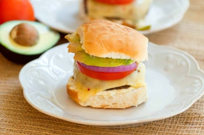 Baja Sliders with Green Chile Mayo These have become such a favorite that we have them at least once a week