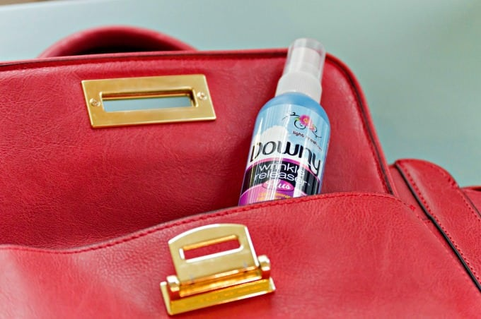 17 Clever Ways To Use Downy Wrinkle Releaser Plus - Take it on the go