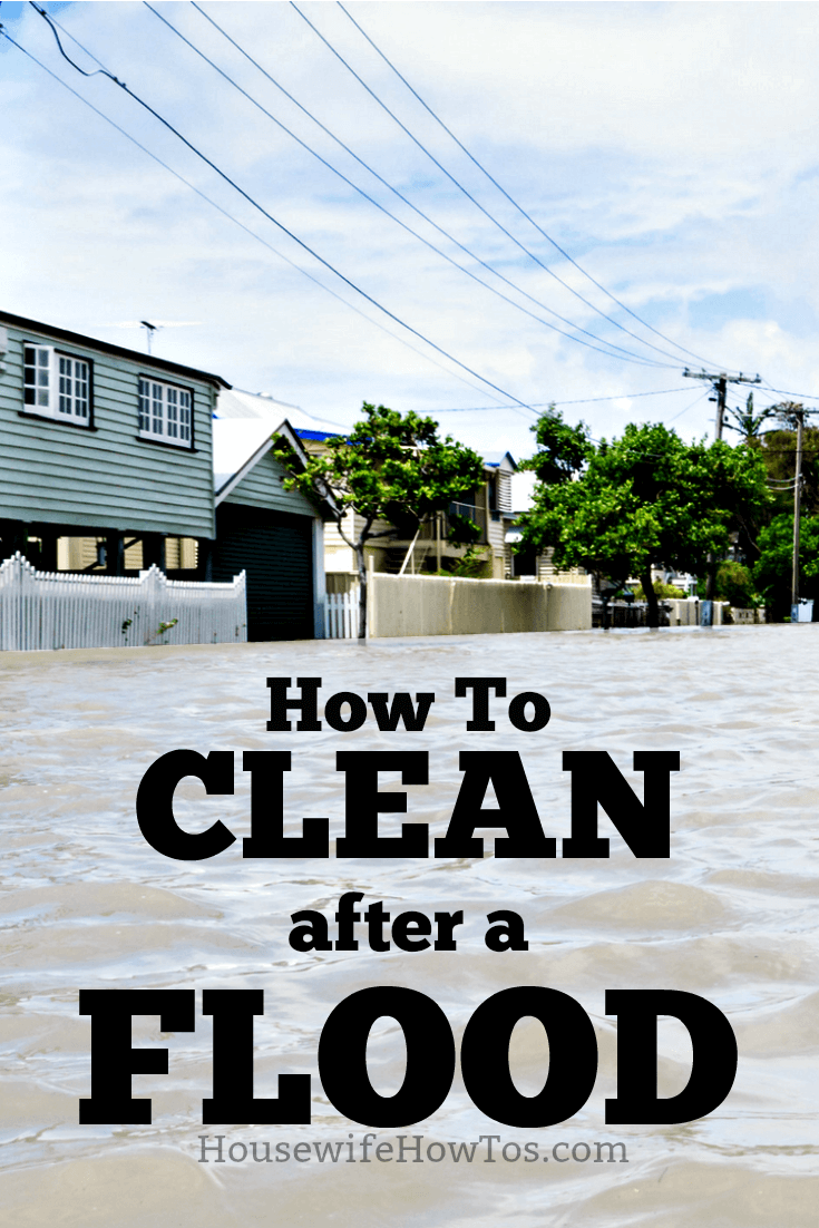 How to Clean after a Flood | Concise advice on what you need to clean your home and belongings after a flood and how to do it safely. #cleaning #disasterrecovery