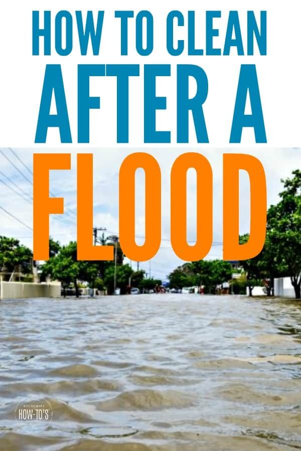 How to Clean after a Flood - Protect your health and your home #cleaning #floodrecovery #housewifehowtos #householdtip