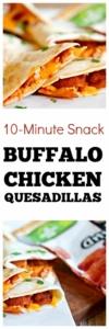 Buffalo Chicken Quesadilla Recipe | Easy snack recipe #snackideas #cheesy