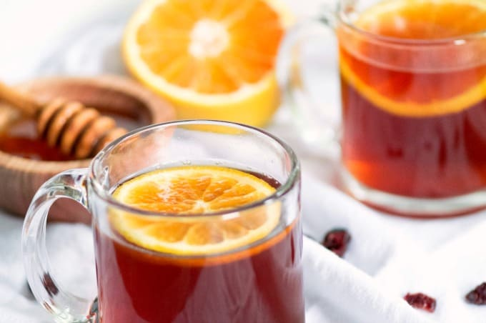 Crockpot Cranberry Cinnamon Citrus Tea Recipe