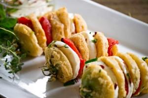 Hasselback Fried Green Tomatoes Recipe