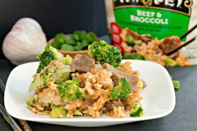 Beat lunch boredom with Tai Pei Single Serve Entrees - Beef and Broccoli makes a convenient and delicious meal