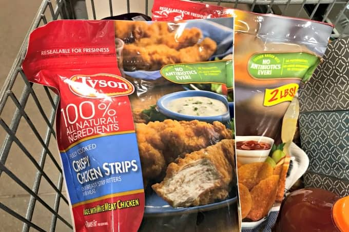Tyson chicken is raised with no antibiotics ever