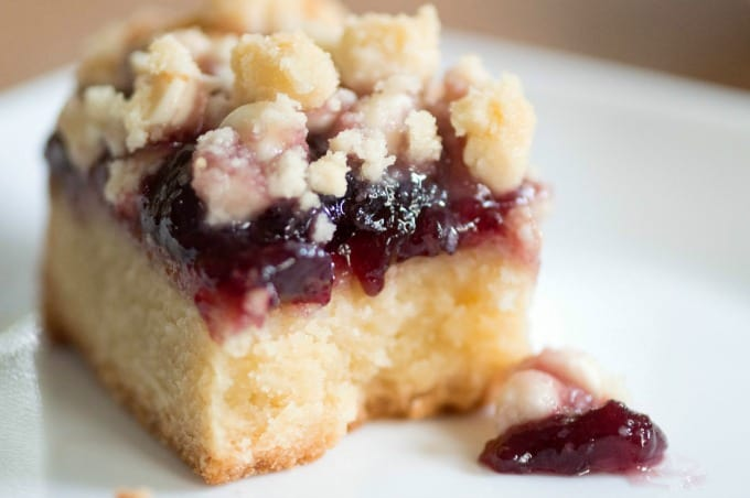 Raspberry White Chocolate Cookie Bars Recipe