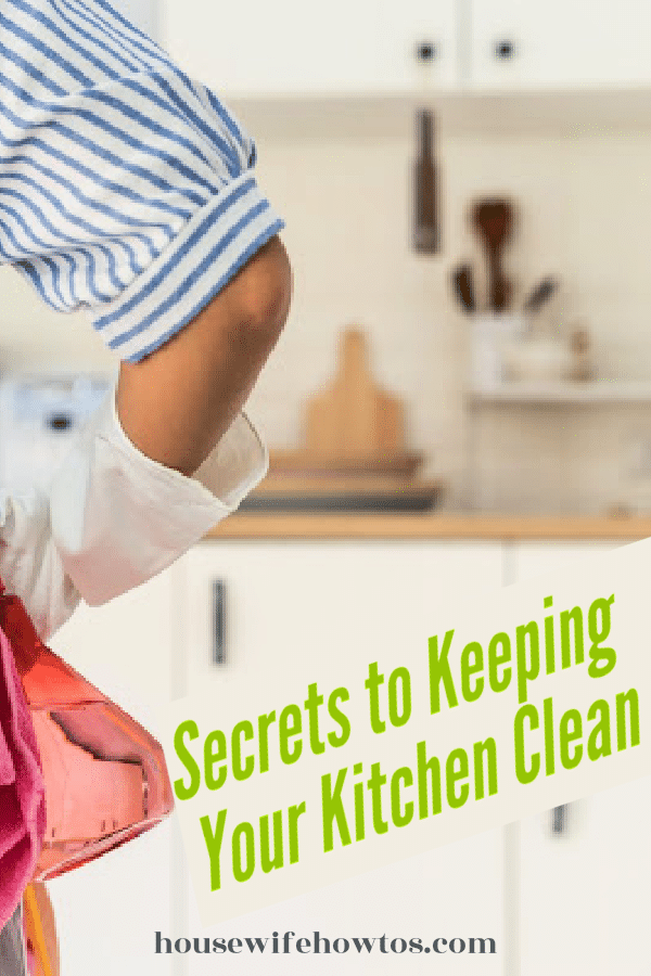Secrets to Keeping Your Kitchen Clean