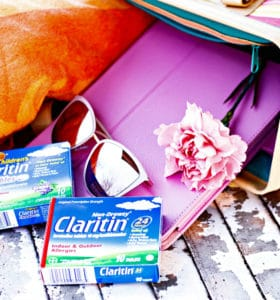 With Claritin we can enjoy time in the park