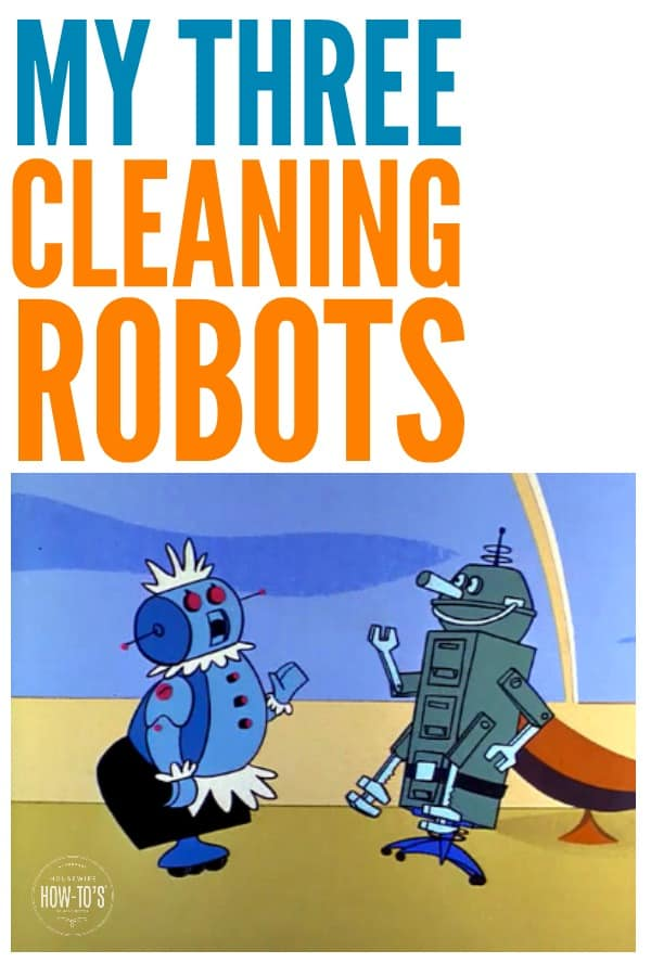 Cleaning Robots That Work for Me - I have finally found three cleaning robots that really DO WORK and make my life easier! #robots #cleaning #cleaninghacks #robotvacuum #robotmop #selfcleaninglitterbox #litterbox #catlitter #housework
