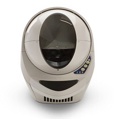 Cat litter robot automatic litterbox cleaning